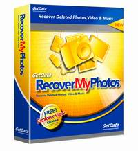 Recover My Photos - Photo Recovery Software - Box Shot
